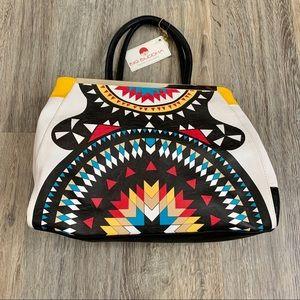 Big Bold Abstract Handbag